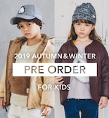 2019 AUTUMN & WINTER PRE ORDER for KIDS