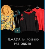 [ROSE BUD]HLAADA FOR ROSE BUDがPre Order開始!