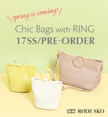 RODE SKO Chic Bags with RING 17SS/PRE-ORDER