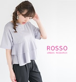 【ROSSO】新作フリルTEE予約開始♪