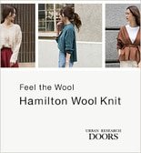 【DOORS】Feel the Wool / Hamilton Wool Knit