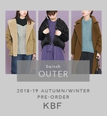【KBF秋冬】Switch OUTER PRE-ORDER