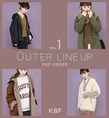 【KBF秋冬】OUTER LINE UP VOL.1 PRE-ORDER