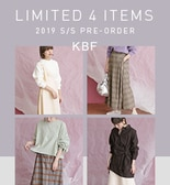 【KBF春夏】KBF LIMITED 4 ITEMS PRE-ORDER