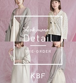 【KBF春夏】KBF Look more! Detail PRE-ORDER