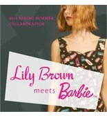 """Lily Brown meets Barbie"" 2019 SS 2ND COLLABORATION"