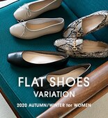 FLAT SHOES VARIATION -2020 AUTUMN/WINTER for WOMEN-