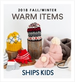 【SHIPS KIDS】2018 Fall &Winter<Warm Items Collection>