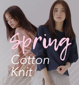 【17SS】Spring Cotton Knit