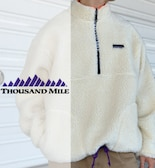 【THOUSAND MILE/サウザンドマイル】WAVE BOA JACKET