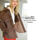 【unfil】19AW COLLECTION -WOMEN-