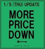 【MORE PRICE DOWN!!】