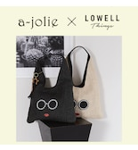 【a-jolie×LOWELL Things】大好評コラボのSS新作バッグが登場♪