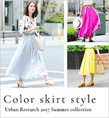 URBAN RESEARCH COLOR SKIRT