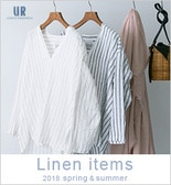 [UR]2018spring &summer linen items