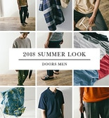 【DOORS】MEN 2018 SUMMER ITEMS