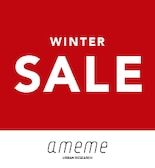 【ameme】2020 WINTER SALE