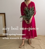 【DOORS】airy boil one-piece