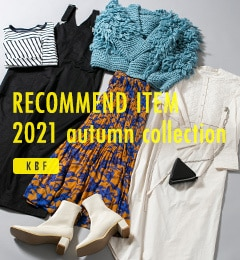RECOMMEND ITEM 2021 autumn collection|KBF
