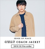 4WAY COACH JACKET