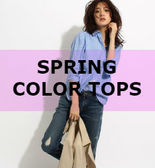 SPRING COLOR TOPS
