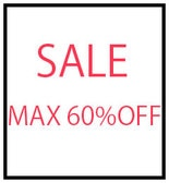 FINAL SALE MAX 60%OFF