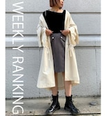 【WEEKLY RANKING】Lady's編
