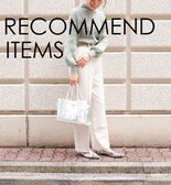 【RECOMMEND ITEMS】ワンマイルおススメアイテム♪