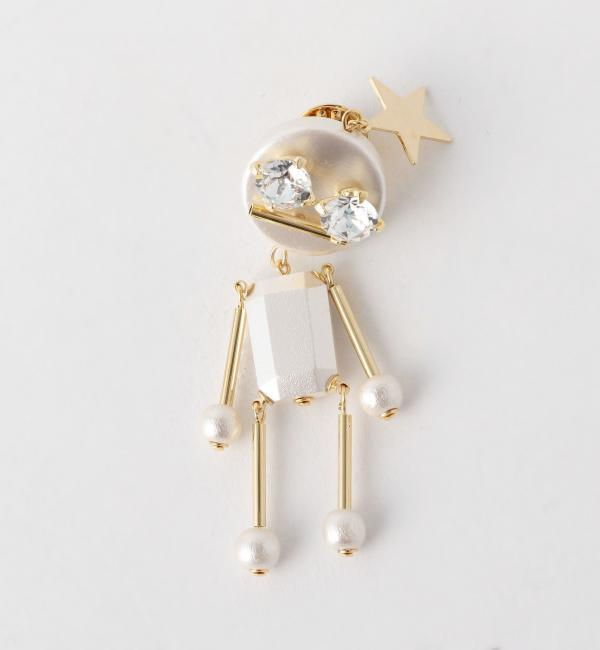【アナザーエディション/Another Edition】 Another Edition×Sea'ds mara ロボットピン/ AE×Seads mara Robot PIN [送料無料]