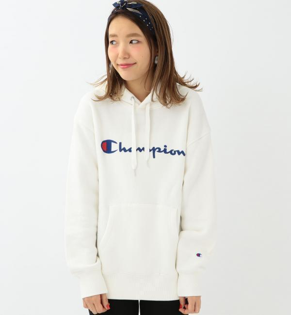【アナザーエディション/Another Edition】 Another Edition×Champion ロゴパーカー/ BCAE×Champion LOGO PK [送料無料]