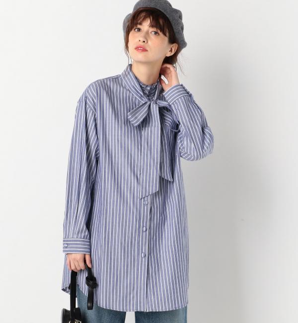 【アナザーエディション/Another Edition】 ストライプチュニックシャツ/AEBFC C ST TU SH [送料無料]