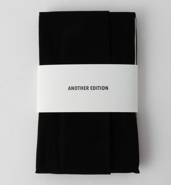 【アナザーエディション/Another Edition】 70デニールリブタイツ/AEBC 70D LIB T [3000円(税込)以上で送料無料]