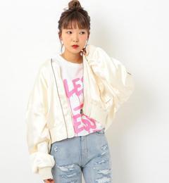 【アナザーエディション/Another Edition】 サテンショートMA-1 [送料無料]