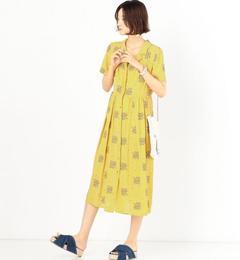【アナザーエディション/Another Edition】 フラワークロスステッチ刺繍ワンピース [送料無料]