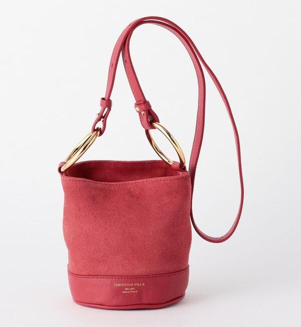 【オデット エ オディール/Odette e Odile】 C/V W-Ring BAG