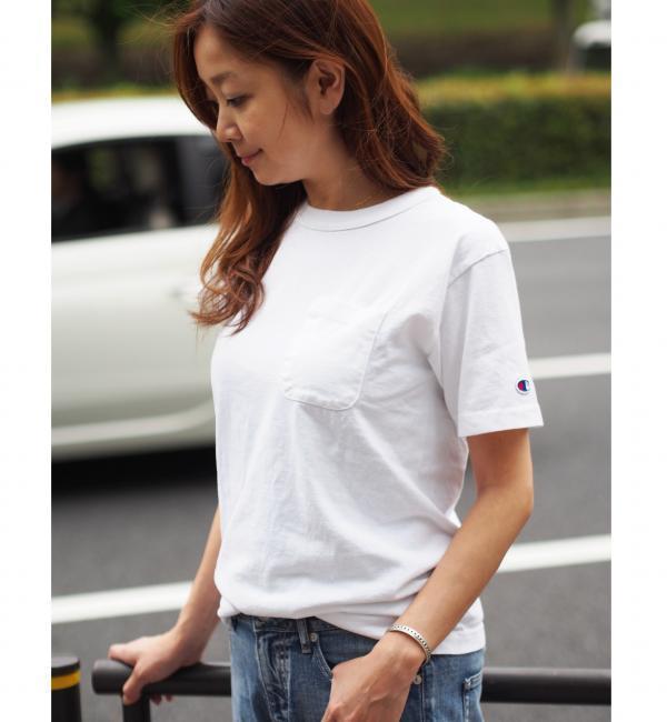 【ジュエルチェンジズ/Jewel Changes】 【WEB限定】◎Champion 1ポケットTシャツ / チャンピオン [3000円(税込)以上で送料無料]