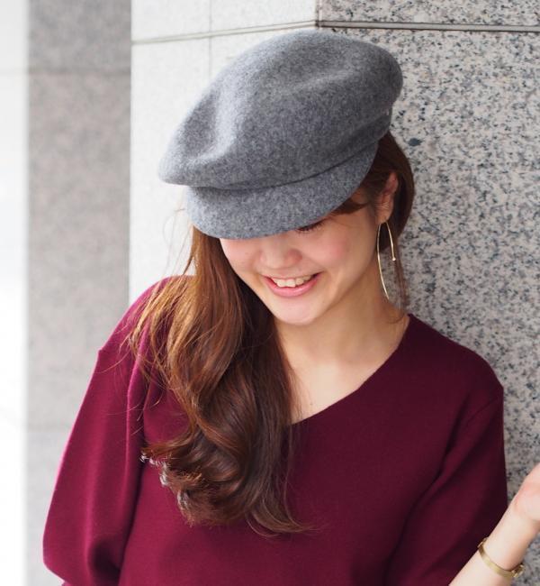 【ジュエルチェンジズ/Jewel Changes】 BOBWHITE ベレーキャスケット / ボブホワイト / ハット / 帽子 [送料無料]