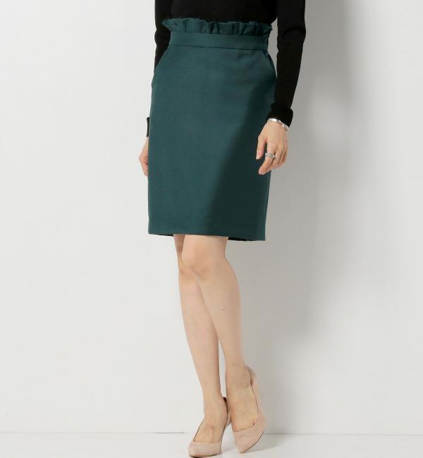 【ジュエルチェンジズ/Jewel Changes】 ★JOCAP ウエストフリル タイトスカート [送料無料]