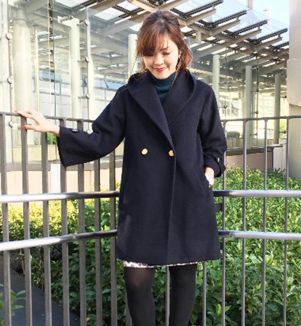 【ジュエルチェンジズ/Jewel Changes】 ★JOC W/N ショールカラーコート [送料無料]