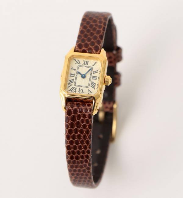 【ジュエルチェンジズ/Jewel Changes】 Intaract Watch Co. スクエア ミニ ジルコニア ウォッチ / インタラクト ウォッチ コー / 時計 / 腕時計 [送料無料]