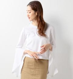 【ジュエルチェンジズ/Jewel Changes】 DOUBLE STANDARD CLOTHING ラッフルスリーブ プルオーバー / ダブルスタンダードクロージング / ダブスタ [送料無料]