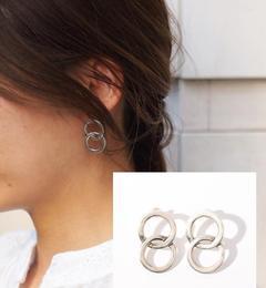 【ジュエルチェンジズ/Jewel Changes】 【WEB限定】◎PHILIPPE AUDIBERT Wサークルピアス / ahe & ahe earring / フィリップオーディベール [送料無料]