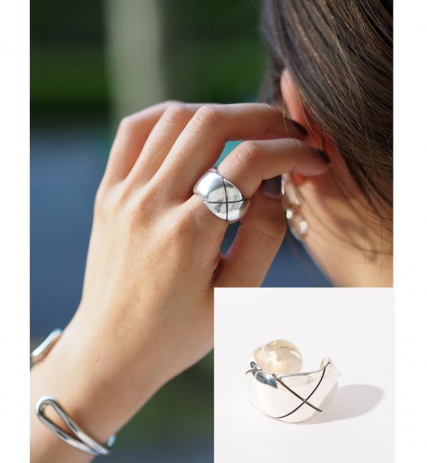 【ジュエルチェンジズ/Jewel Changes】 PHILIPPE AUDIBERT クロスリングSIL / フィリップオーディベール / 指輪 [送料無料]