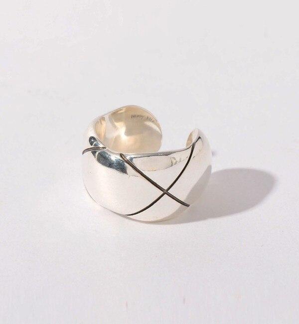 【エメルリファインズ/EMMEL REFINES】 PHILIPPE AUDIBERT(フィリップオーディベール)クロスリング SIL / 指輪