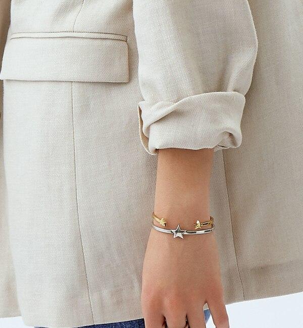 【ジュエルチェンジズ/Jewel Changes】 【WEB限定】◎PHILIPPE AUDIBERT STARバングル SIL / Maxton Bracelet