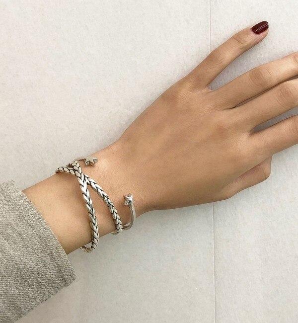 【エメルリファインズ/EMMEL REFINES】 【WEB限定】◎PHILIPPE AUDIBERT STARバングル SIL / Maxton Bracelet