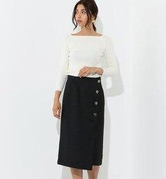 <アイルミネ> SMF T/R ラップライク スカート画像