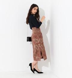 <アイルミネ> SMF ゴブランジャカードスカート画像