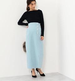 <アイルミネ> SMF コーデュロイ ハイウエストスカート画像