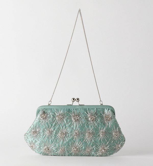 【エメルリファインズ/EMMEL REFINES】 ANANS(アナンズ)ビーズ刺繍クラッチバッグ
